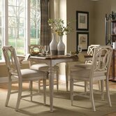 Provenance 5 Piece Counter Height Dining Set