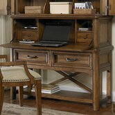 Copper Ridge Desk with Hutch