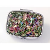 Secret Garden Rectangular Pill Box