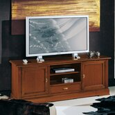 152cm TV-Kommode &quot;Brianza&quot; in Nussbaum-Antik