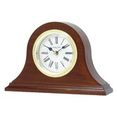 Napoleon Mantle Clock with Classic Roman Dial