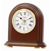 Solid Wood Mantle Clock
