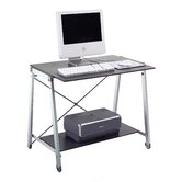 Banco Light Computer Desk with Pull-Out Keyboard Tray