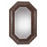 Jewelry 46&quot; x 30&quot; Mirror in Harvest Bronze