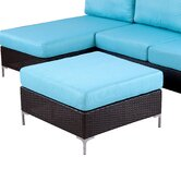 Napa Springs Ottoman with Cushion