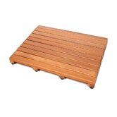 Western Cedar Teak Mat