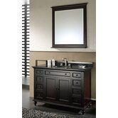 "Merlot 48"" Bathroom Vanity Set"