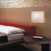 "Tecla 14.5"" Table Lamp in Polished Brass"