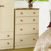 Blenheim Deep Chest of 4 Drawers