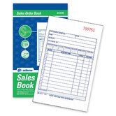 Carbonless Sales Order Book, 3-Part Carbonless, 4-3/16 x 7-3/16, 30 Sheets
