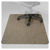 Recyclear Chairmats for Carpets, 36 X 48, 20 X 12 Lip