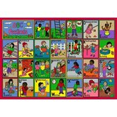 Educational ABC Feelings Kids Rug