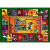 Educational Read and Rhyme Kids Rug