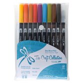 Dual Brush Groovy Pen (Set of 10)
