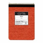 Gold Fibre Retro Pad, Wide Rule, 8-1/2 x 11-3/4, Ivory, 70-Sheets/Pad