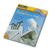 Laser Copier Transparency Film, Letter, 100/Box