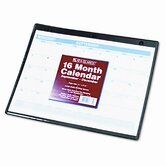 Academic Monthly Desk Pad/Wall/Ring Binder Calendar, 3-Hole Punched, 11 x 8-1/4, 2013