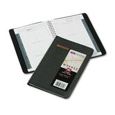 Weekly Appointment Book, 4-7/8 x 8, Black, 2013