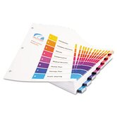 Ready Index Table/Contents Dividers (8 Tabs, 24 Sets/Box)