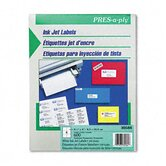 Pres-A-Ply 6-Up Inkjet Address Labels, 600/Box