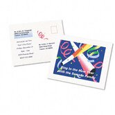 Personal Creations Inkjet Printable Postcards, 60/Box