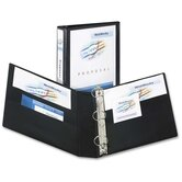 "3-Ring View Binder, 1-1/2"" Capacity, 11""x8-1/2"", Various Colors"
