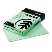 Fireworx Colored Paper, 20 lbs., 8-1/2 x 14, Popper-mint Green, 500/Ream