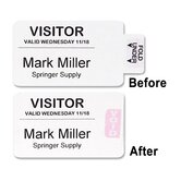 Visitor Badges (Set of 12)