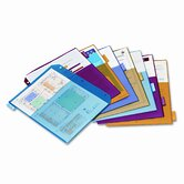 Poly 2-Pocket Index Dividers, 8-Tabs/Set, 4 Sets/Pack
