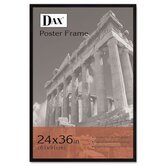 "Flat Face Wood Poster Frame with Plexiglas Window, 24"" x 36"""