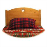 Traditional Star Twin Panel Headboard