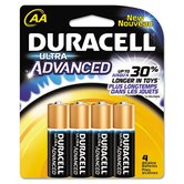 Ultra Alkaline Batteries, AA, 4/pack