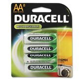 Rechargeable Nimh Batteries with Duralock Power Preserve Technology, Aa, 8/Pack