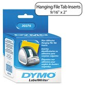 Hanging File Folder Tab Inserts, 260/Box