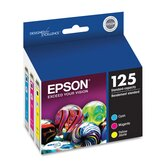 T125520 (125) Ink 3/Pack