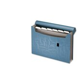 Essentials Expanding File, 7 Pockets, Poly, 13 1/2 x 9, Blue