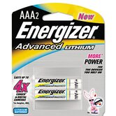 Advanced Lithium Batteries, Aaa, 2/Pack