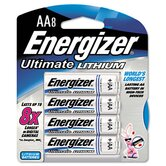 e² Lithium Batteries, AA, 8/pack