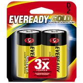 D Cell Alkaline Battery (2 Pack)