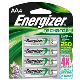 AA ACCU Rechargeable High Energy Battery (4 Pack)