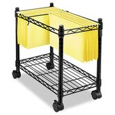 High-Capacity Rolling File Cart