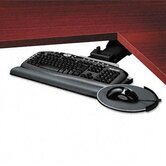 Professional Corner Executive Keyboard Tray