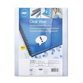 Swingline Clear View Presentation Binding System Cover, 11 X 8-1/2, 100/Box