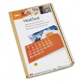 HeatSeal LongLife Premium Laminating Pouches, 5mm, 9 x 14-1/2, 100/box