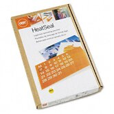 HeatSeal Laminating Pouches, 3mm, 9 x 14-1/2, 100/box