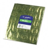 "Gold Foil Embossed ""Official Seal of Excellence"" Seals, 100/Pack"