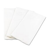 (100 per Carton) Fold Dinner White Napkins, 15 x 16