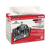 Brawny Industrial Airlaid Medium-Duty Wipers, 76/Box, 10/Carton