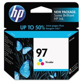 C9363WN (HP97) Inkjet Cartridge, High-Yield, Tri-Color