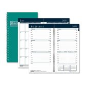 "Wirebound Monthly/Weekly Pocket Planners, Mon/Wkly, 12 Mos, 3-1/4""x6-1/4"", GN, 2013"